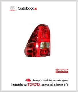 Faro posterior para vehículos Toyota - Repuestos Casabaca Hilux - Fortuner - Corolla - Rav - Yaris - 4Runner - Prado