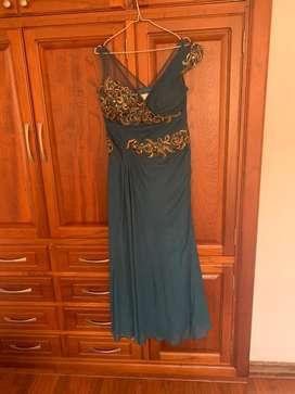 Vestido largo elegante