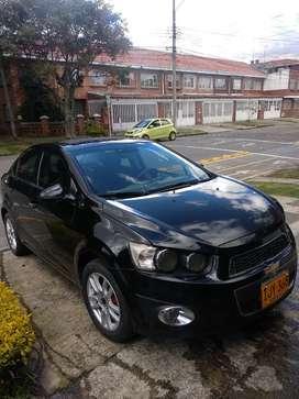 Chevrolet Sonic sedan automatico 2015