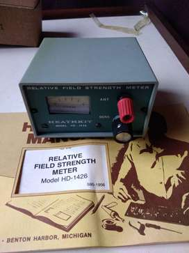 Medidor de campo relativo modelo HD 1426 HEATHKIT