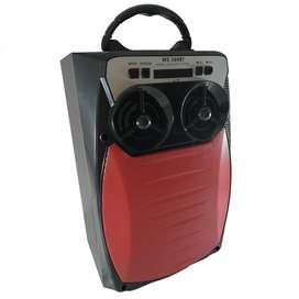 Cabina De Sonido Parlante Portátil Con Bluetooth Y Luces Led