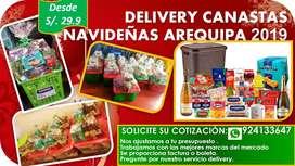 CANASTAS NAVIDEÑAS  AREQUIPA 2019