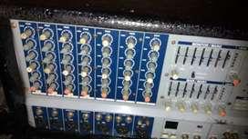 Amplificador americáno 8 canales