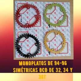Monoplatos para bicicletas