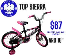"Bicicleta Niños Aro 16"""
