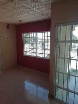 Apartamento en barrio los almendros, segundo piso, recién construido, 3 habitaciones, 1 baño, servicios independientes
