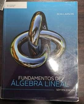 Fundamentos de Algebra Lineal (Séptima edición)