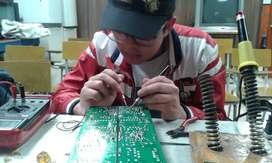 Repare electrodomésticos, estudie