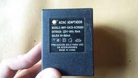Cargador Mingway MWY-DACB-AC090800 - 9v 800mah