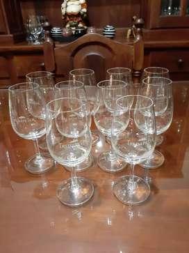 Copas bodega trumpeter  cristal 10 unidas x $2500