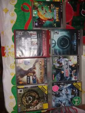 Video juegos usados y originales (PS3)