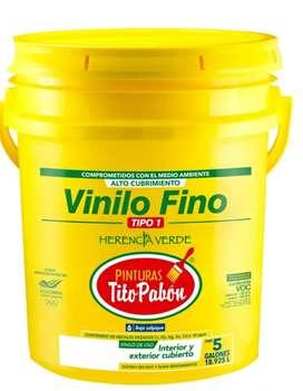 Caneca de pintura de 1era marca Tito Pabon