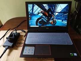 Gamer Dell G5 Nvidia4gb Gtx1050ti Core I7 8750h Ssd128gb+1tb Ram8gb Full HD 15.6''