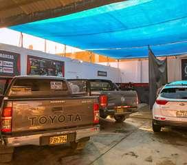 Alquiler de car wash