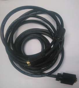 Cable Vga 5 mts
