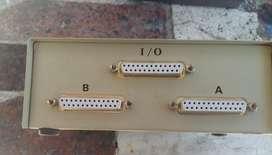 Switch Puerto Paralelo Lpt1 Para 2 Impresoras Selector