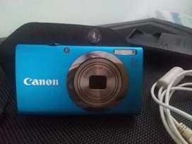 Camara Digital Canon PowerShot A2300 - 16 Mpx - Zoom óptico 5X - LCD 2.7 Azul