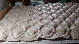 Colchón antiescaras (OJO no repuesto) es Silfab usado Domus 1 Marca Silab 1mes de uso
