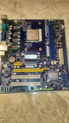 Placa Madre Para Repuestos + Procesador Athlon II + Disipador AM3