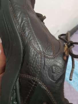 Zapatos timberland en cuero