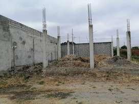 Vendo mi terreno en construcción 10 de ancho x 15 de largo