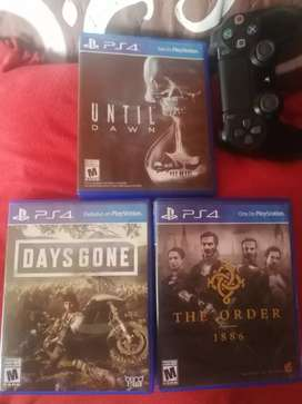 vendo o intercambio juego ps4 Call of Duty Moden Warfrre o Assassins Creed Origen. están nuevos poco uso