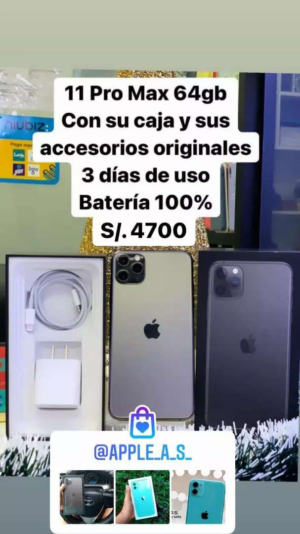 iPhone 11 PRO MAX 64gb 0