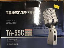 Microfono dimamico metal tipo clasico Takstar