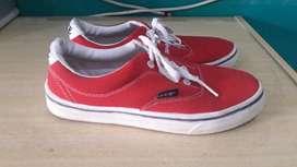zapatillas rojo talle 38