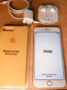 Vendo Iphone 8 plus rose 64gb