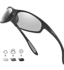 Gafas de sol polarizadas Faguma para Hombre Ciclismo, Trotar, Pesca