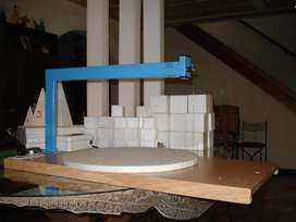 Maquina industrias Cortante de telgotor y polyfan