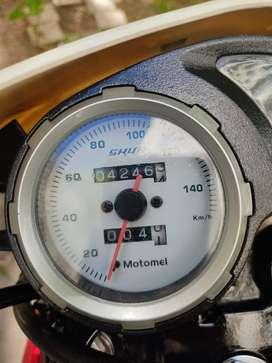 marca motomel skua, año 2019, 4200 km, 150 cc.