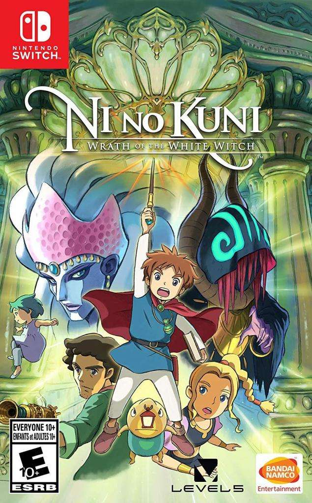 Ni No Kuni Wrath Of The White Witch Switch Nuevo Y Sellado