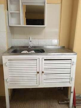 Meson de cocina + mueble listo para instalar!