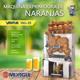 Exprimidora de naranjas Ventus VMJ-25 NUEVA exprime 25 naranjas por minuto naranjera jugo naranja