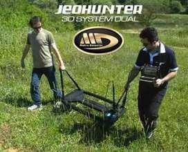 Detector de Metales y vacios Jeohunter 3D