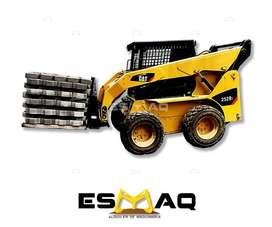 Alquiler de Minicargadora y Maquinaria Pesada, Desalojo de Escombros, Demoliciones, Desbanques, Excavaciones.