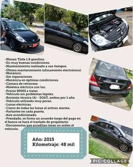 Venta Nissan Tiida 2015