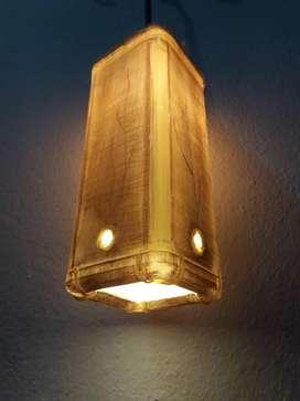LAMPARA DECORATIVA DE PVC