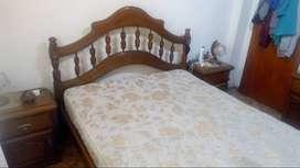 juego de dormitorio completo de roble macizo!!!