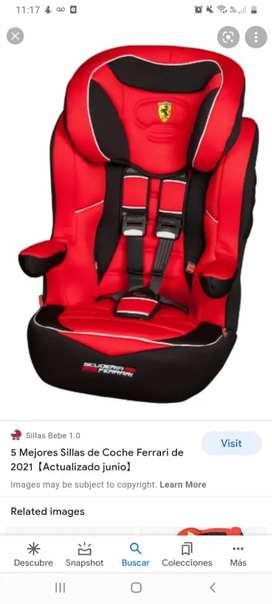 Vendo silla para niño poner el carro