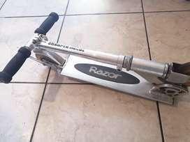 Scooter manual de acero