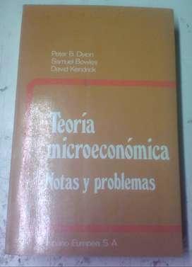 Teoría microeconómica Notas y problemas - Peter B. Dixon - 1983