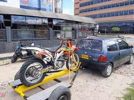Trailer o remolque para una moto