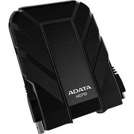 Disco Duro Externo Adata 1tb HD710 Pro color negro Usb3.1