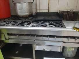 Venta estufa industrial pqra restaurante