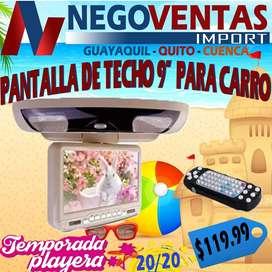 PANTALLA DE TECHO MONITORA DE 9 PULGADAS PARA BUSES