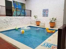 Se renta Casa familiar amobalda con piscina TOCAIMA. A 5 minutos del centro de Tocaima.  Capacidad 12 personas.