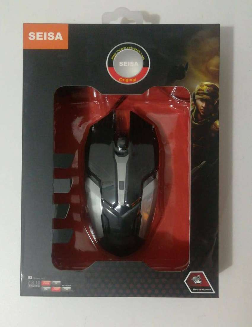 REMATE MOUSE USB GAMER OPTICO USB LED 1000 DPI 0